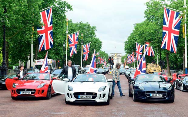 Top Gear group shot