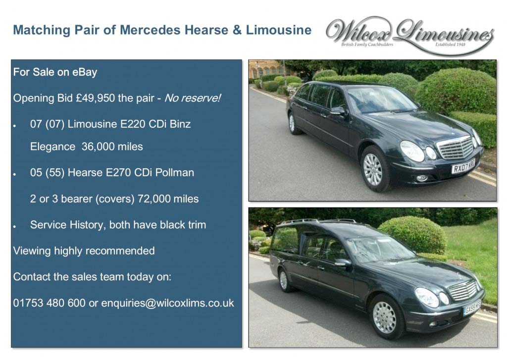 Mercedes Hearse & Limo ad for website
