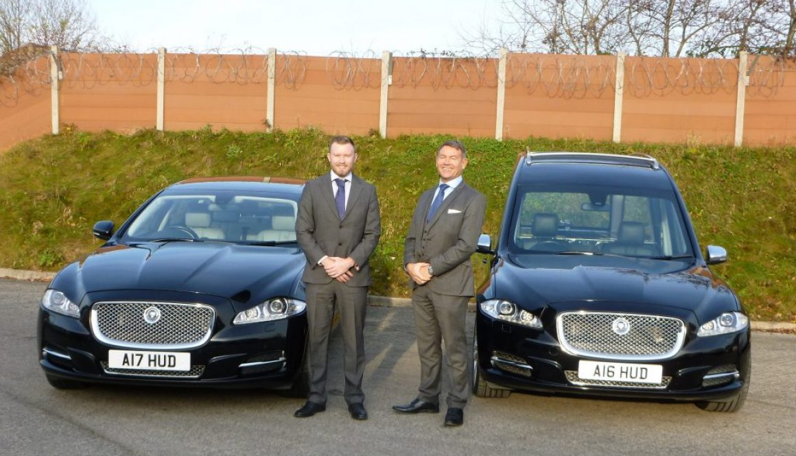 Jaguar Fleet for George Hudson & Sons Funeral Directors Ltd