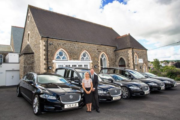 RJ Bray receive their second pair of Jaguar XJ's