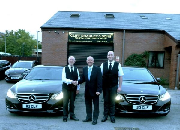 Wilcox supply Pre-owned Mercedes to Cliff Bradley & Sons Funeral Directors