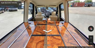 Hearse Coffin Area