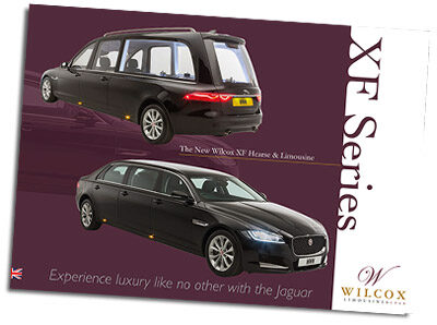 "To download this Wilcox XF Jaguar Hearse & Limousine brochure, please fill out the details below  and click ""BROCHURE DOWNLOAD"". By downloading this brochure you are agreeing with our Terms and Conditions. Please also see our Privacy Statement. Thank you for using this service."