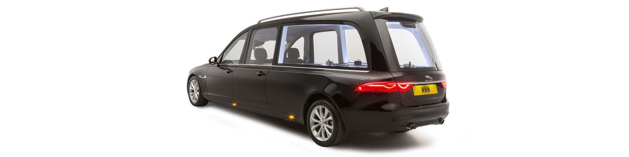 Wilcox 5 Door Hearse based on Jaguar XF