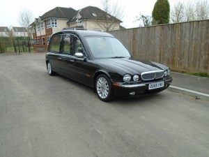 2006 Jaguar/Daimler Aluminium Hearse (X350 and X358)(E3169)