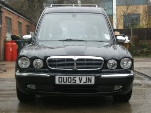 2005 Jaguar/Daimler Aluminium Hearse (X350 and X358)(E2975)
